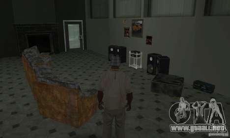 Nuevas casas de seguridad interiores para GTA San Andreas twelth pantalla