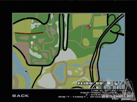 Ultra HD tarjeta para GTA San Andreas segunda pantalla