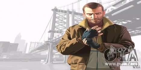 Pantallas de inicio de GTA IV v. 2.0 para GTA San Andreas