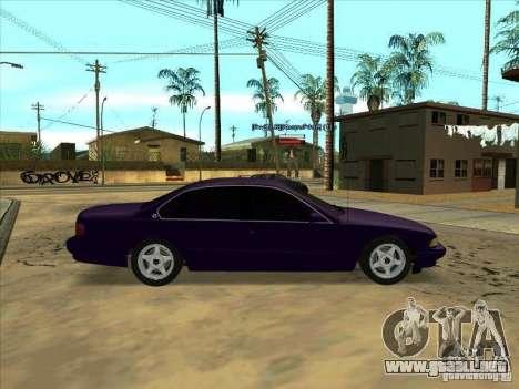 Chevrolet Impala SS 1995 para GTA San Andreas left