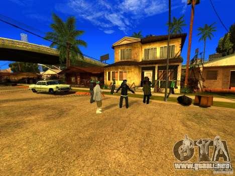 Área de fiesta para GTA San Andreas tercera pantalla