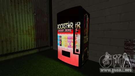 Rockstar bebida energética» para GTA 4 tercera pantalla