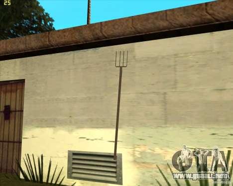Tridente para GTA San Andreas segunda pantalla