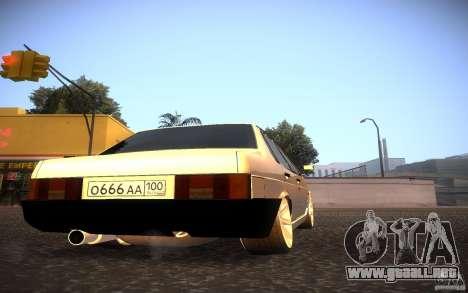 VAZ 21099 estilo Tuning para la visión correcta GTA San Andreas