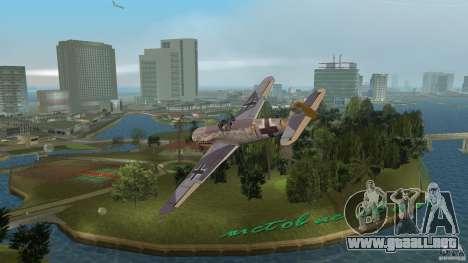 WW2 War Bomber para GTA Vice City left