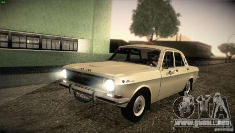 Taxi Volga GAZ-24 01 para GTA San Andreas