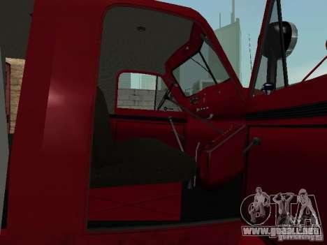 GAZ 51 20 ADC para visión interna GTA San Andreas