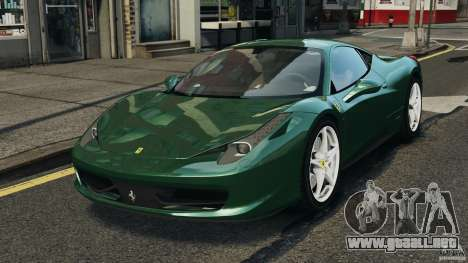 Ferrari 458 Italia 2010 para GTA 4