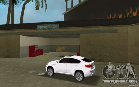 BMW X6M 2010 para GTA Vice City left