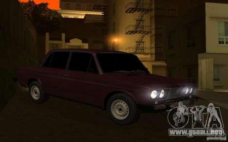 VAZ 2106 Tyumen para la visión correcta GTA San Andreas