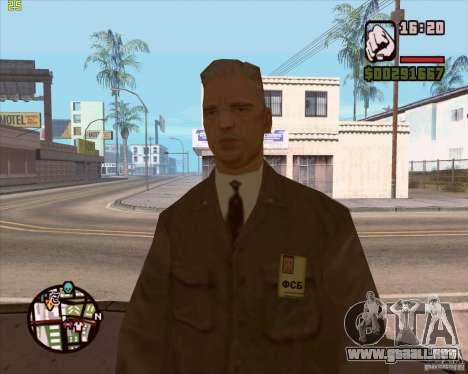 Servicio de seguridad ruso para GTA San Andreas sexta pantalla
