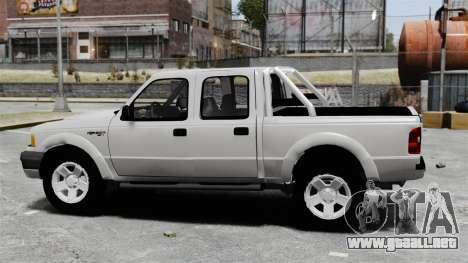 Ford Ranger 2008 XLR para GTA 4 left