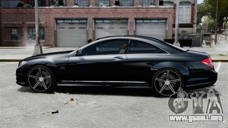 Mercedes-Benz CL65 AMG v1.1 para GTA 4 left