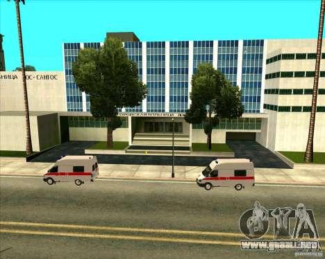Los vehículos estacionados v2.0 para GTA San Andreas quinta pantalla