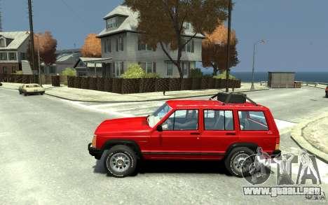 Jeep Cherokee 1984 para GTA 4 left