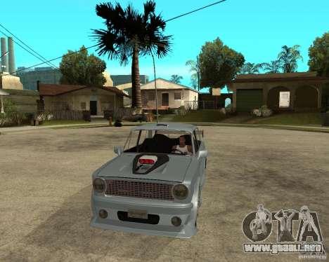 VAZ 2101 coches TUNING por ANRI para GTA San Andreas vista hacia atrás