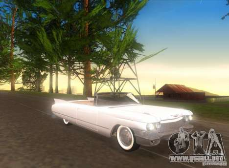 Cadillac Series 62 1960 para GTA San Andreas left