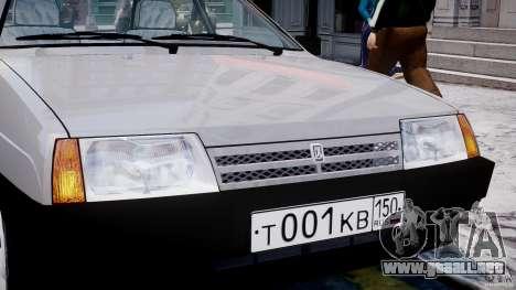 Vaz-21093i para GTA 4 ruedas