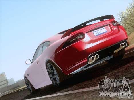 Jaguar XKR-S 2011 V2.0 para la visión correcta GTA San Andreas