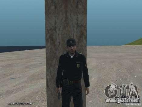 Sargento PPP para GTA San Andreas tercera pantalla