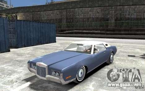 Lincoln Continental Mark IV 1972 para GTA 4