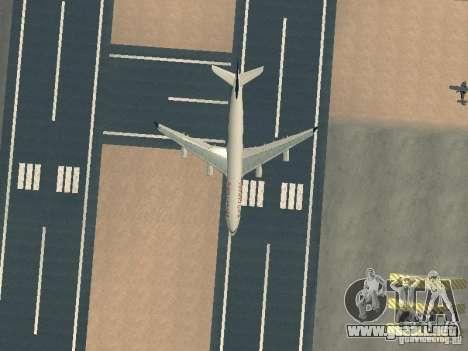 Airbus A340-300 Air Canada para la vista superior GTA San Andreas