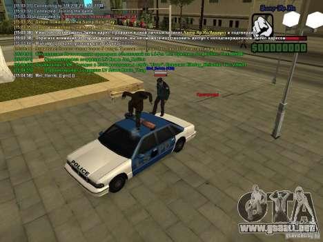 SA:MP 0.3d para GTA San Andreas novena de pantalla