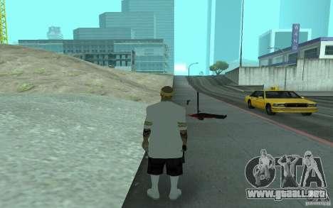 Nuevos aspectos Los Santos Vagos para GTA San Andreas sexta pantalla