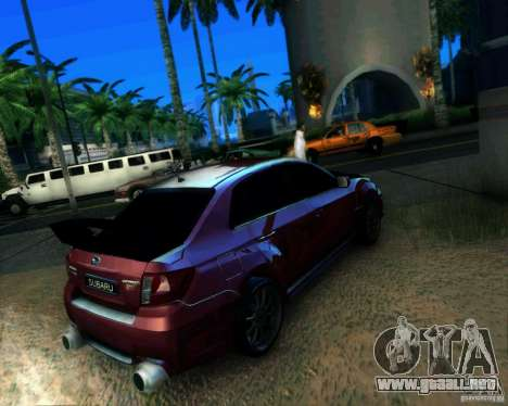 Subaru Impreza WRX STi 2011 para GTA San Andreas left