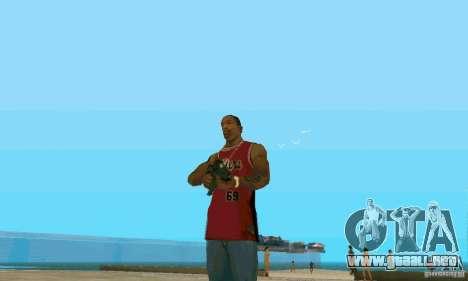 XM8 para GTA San Andreas segunda pantalla
