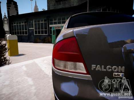 Ford Falcon XR-8 para GTA 4 left