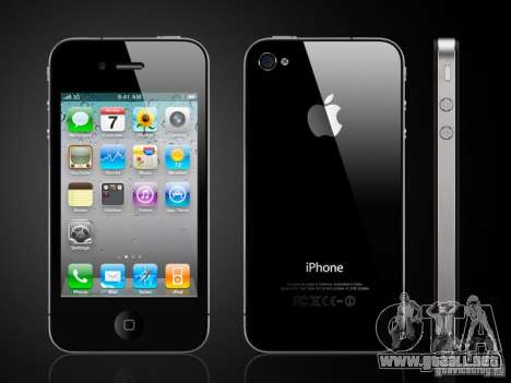 IPhone 4 g negro para GTA San Andreas