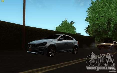 Volvo S60 2011 para GTA San Andreas left