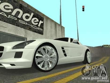 Luxury Wheels Pack para GTA San Andreas segunda pantalla