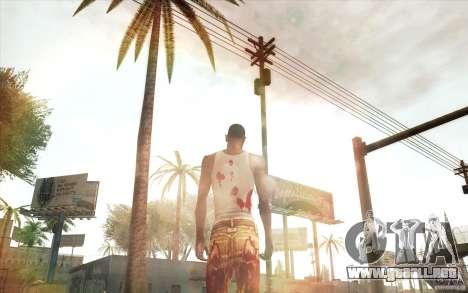 Lensflare para GTA San Andreas sucesivamente de pantalla