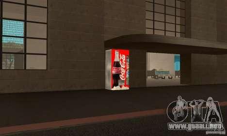 Cola Automat 6 para GTA San Andreas segunda pantalla