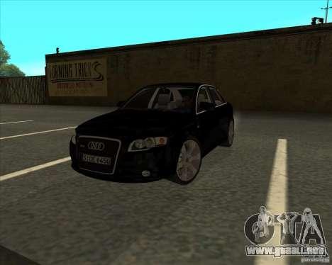 AUDI S4 Sport para GTA San Andreas