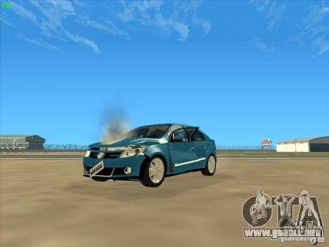 Volkswagen Voyage Comfortline 1.6 2009 para la vista superior GTA San Andreas