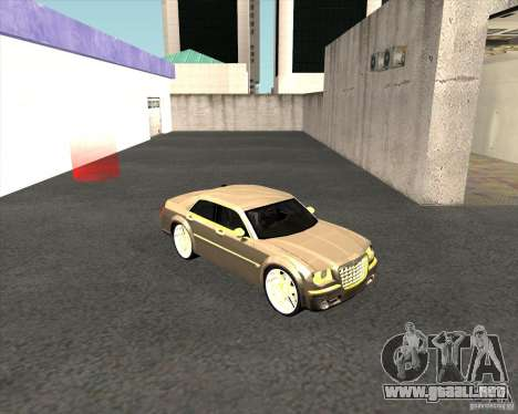 Chrysler 300C dub edition para la visión correcta GTA San Andreas