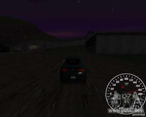 Beta velocímetro 1.5 para GTA San Andreas segunda pantalla