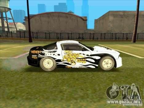 Ford Mustang Drag King from NFS Pro Street para la visión correcta GTA San Andreas