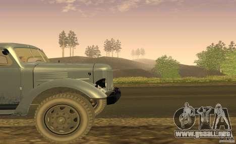 ZIL 164 Tractor para visión interna GTA San Andreas