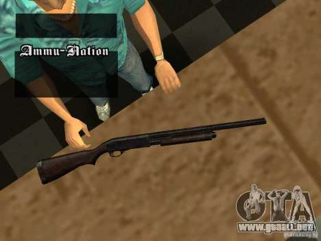 Remington 870 Action Express para GTA San Andreas