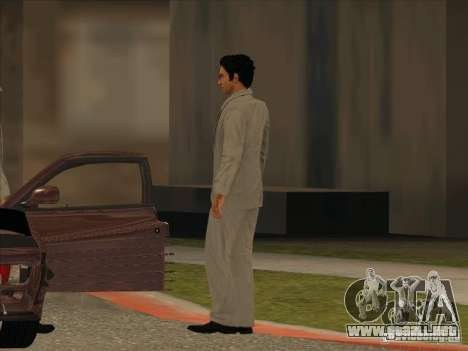 Vito Scaletta Made Man para GTA San Andreas segunda pantalla