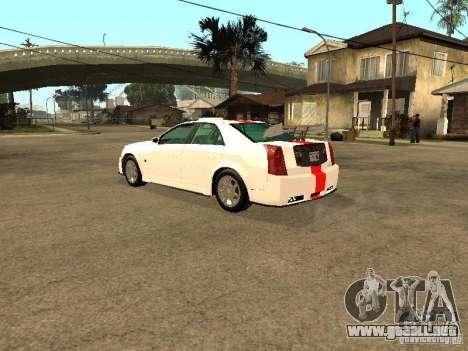 Cadillac CTS 2003 Tunable para vista lateral GTA San Andreas
