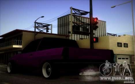 Volkswagen Polo Pickup para la visión correcta GTA San Andreas