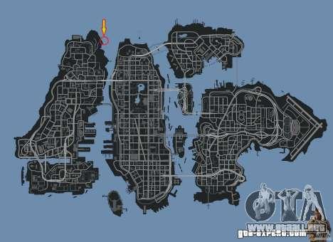 4x4 Trail The Reef para GTA 4 adelante de pantalla