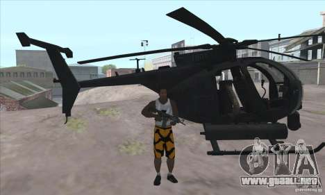 Care Package from MW2 para GTA San Andreas segunda pantalla