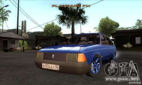 2141 AZLK personas edición para GTA San Andreas