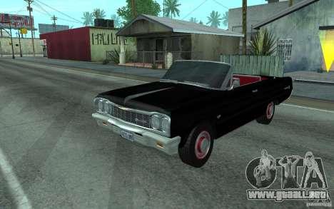 Chevrolet Impala SS 1964 para GTA San Andreas